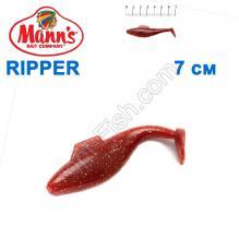 Силикон Manns Ripper MFMO-033-70мм z pletwa (20шт)