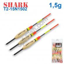Поплавок Shark Тополь T2-15N1502 (20шт)