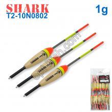 Поплавок Shark Тополь T2-10N0802 (20шт)