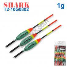 Поплавок Shark Тополь T2-10G0802 (20шт)