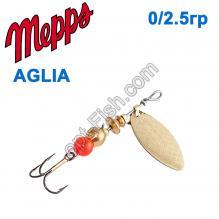 Блесна Mepps Aglia long zota-gold 0/2,5g
