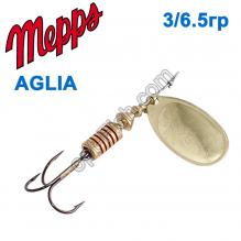 Блесна Mepps Aglia zota-gold 3/6,5g