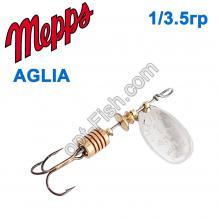 Блесна Mepps Aglia srebrna-silver 1/3,5g