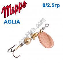 Блесна Mepps Aglia miedzianna-cooper 0/2,5g