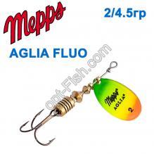 Блесна Mepps Aglia fluo tiger 2/4,5g