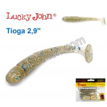 Виброхвост 2,9 Tioga LUCKY JOHN*7 140103-CA35