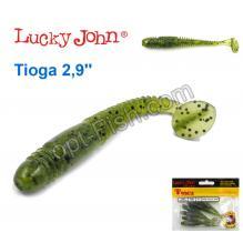 Виброхвост 2,9 Tioga LUCKY JOHN*7 140103-PA01