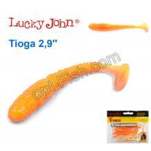 Виброхвост двухцветный 2,9 Tioga LUCKY JOHN*7 140103-T26