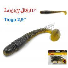 Виброхвост двухцветный 2,9 Tioga LUCKY JOHN*7 140103-T45
