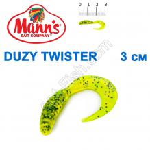 Силикон Manns Twister CHP-035-30мм (20шт)