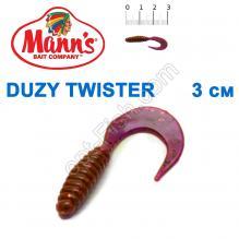 Силикон Manns Twister EV-035-30мм (20шт)