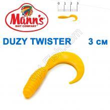 Силикон Manns Twister Y-035-30мм (20шт)