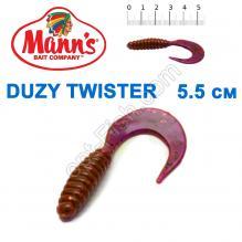 Силикон Manns Twister EV-037-55мм (20шт)