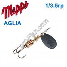 Блесна Mepps Aglia czarna-black 1/3,5g