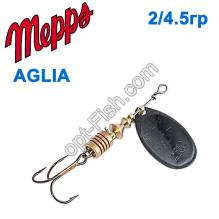 Блесна Mepps Aglia czarna-black 2/4,5g