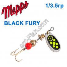 Блесна Mepps Black fury srebrny/seledynowe-chartr. 1/3,5g