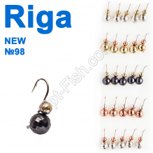 Мормышка вольф. Riga NEW 134053 №98 (25шт)
