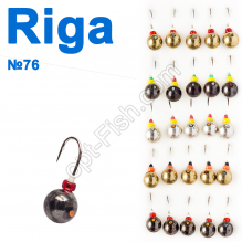 Мормышка вольф. Riga 102050 (25шт) №76