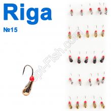 Мормышка вольф. Riga 106025 (25шт) №15