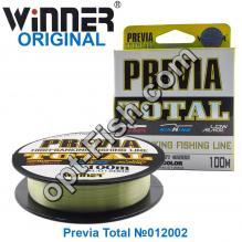 Леска Winner Original Previa Total №012002 100м 0,18мм *