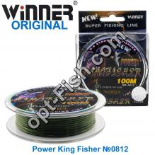 Леска Winner Original Power King Fisher №0812 100м 0,35мм *