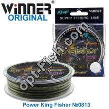 Леска Winner Original Power King Fisher №0813 100м 0,35мм *