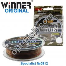 Леска Winner Original Specialist №0912 100м 0,16мм *