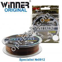Леска Winner Original Specialist №0912 100м 0,40мм *