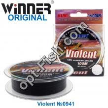 Леска Winner Original Violent №0941 100м 0,30мм *
