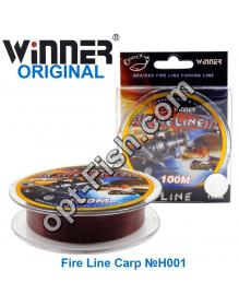 Леска Winner Original Fire Line Carp №H001