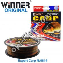 Леска Winner Original Expert Carp №0814 300м 0,45мм *