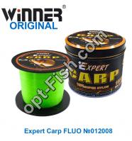 Волосінь Winner Original Expert Carp FLUO №012008 1000м 0,25 мм *