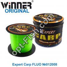Леска Winner Original Expert Carp FLUO №012008 1000м 0,30мм *