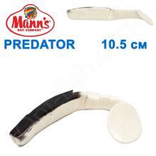 Силикон Manns Predator W-BB-077-115мм (10шт) Maximus
