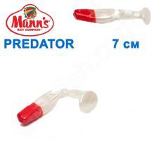 Силикон Manns Predator PL-RN-056-70мм Czerwony Nos (20шт)
