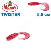 Силикон Manns Twister MFST-037-55мм (20шт)