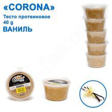 Тесто протеиновое Corona 40g ваниль (5шт)