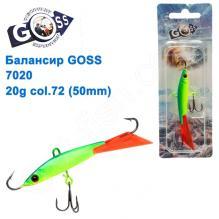 Балансир Goss 7020 20g col. 72 (50mm)