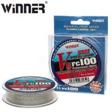 Флюорокарбон Winner Fluro Carbon 100% V8 №0180328 50м 0,14мм *