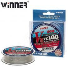 Флюорокарбон Winner Fluro Carbon 100% V8 №0180328 50м 0,14мм *