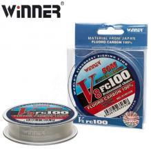 Флюорокарбон Winner Fluro Carbon 100% V8 №0180328 50м 0,25мм *