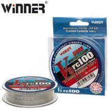 Флюорокарбон Winner Fluro Carbon 100% V8 №0180328 50м 0,10мм *