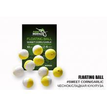 Плавающая насадка ПМ Floating Ball 4мм Чеснок/Сладкая кукуруза