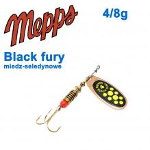 Black fury miedz/seledynowe-chartr. 4/8g