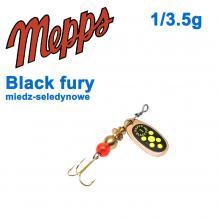 Black fury miedz/seledynowe-chartr. 1/3,5g