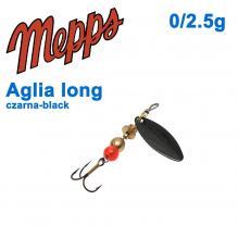 Aglia long czarna-black 0/2,5g