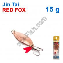 Блесна незацепляйка (тройник) Jin Tai Red Fox 6027-12 15g 03