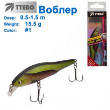 Воблер Ttebo M-CAM80 (0,5-1,5m) 5,5g #01