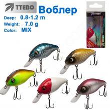 Воблер Ttebo С-GRD45M (0,8-1,2m) 7g MIX
