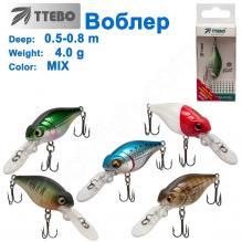 Воблер Ttebo С-TC40 (0,5-0,8m) 4g MIX